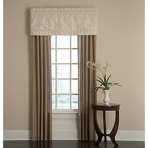 Bridge Street Sonoma Window Curtain Panel Pair And Valance
