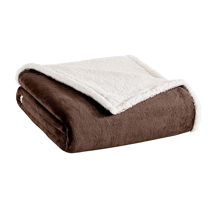 Madison Park Premier Comfort Microlight Berber Blanket Bed Bath Beyond