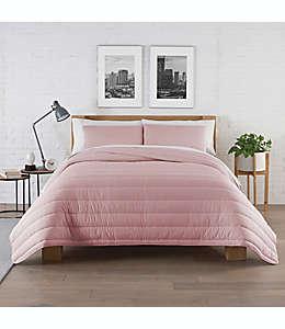 Set de edredón king Jersey Pure Beech® en rosado