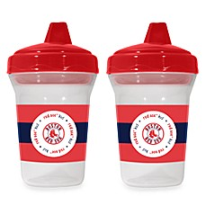 image of Boston Red Sox Baby Fanatic® MLB® 2-Pack Sippy Cup