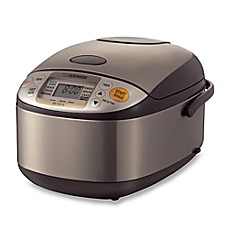 image of Zojirushi 5-1/2 Cup Micom Rice Cooker and Warmer in Stainless Steel