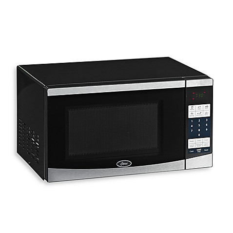 Oster 174 Compact Microwave With Digital Controls Bed Bath