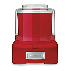image of Cuisinart® Ice Cream and Sorbet Maker in Red