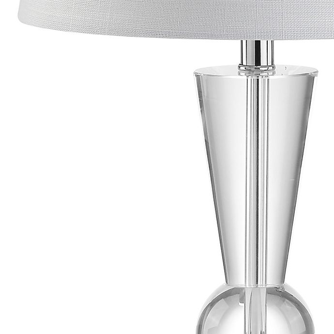 Jonathan Y Wynne 22 Crystal Led Table Lamp Bed Bath Beyond