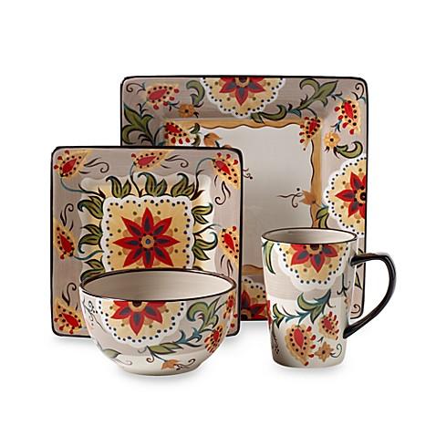 Lovely Tabletops Unlimitedu0026reg; Misto Odessa Square Dinnerware Collection