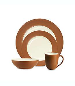 Vajilla Noritake® Colorwave en café, 4 piezas