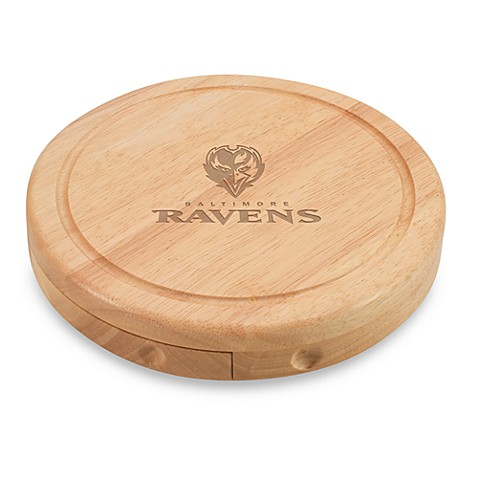 Picnic Time® Baltimore Ravens Brie Cheese Board Set