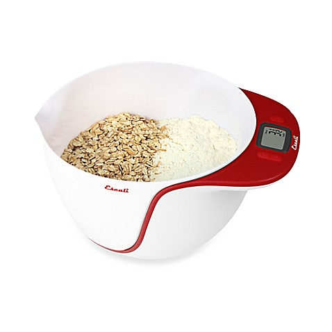 Escali 174 Taso Mixing Bowls With 11 Lb Scale Bed Bath