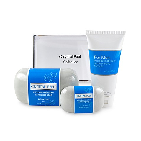 Crystal Peel™ Men's Microdermabrasion Pre-Shave Collection Duo