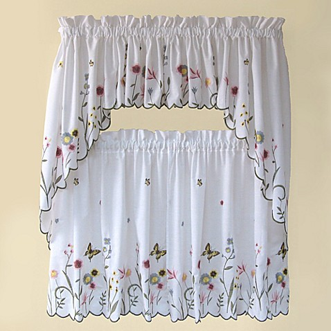 Garden Delight Swag Valance Bed Bath Amp Beyond