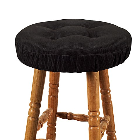 Klear Vu Embrace Barstool Cover In Black Bed Bath Amp Beyond