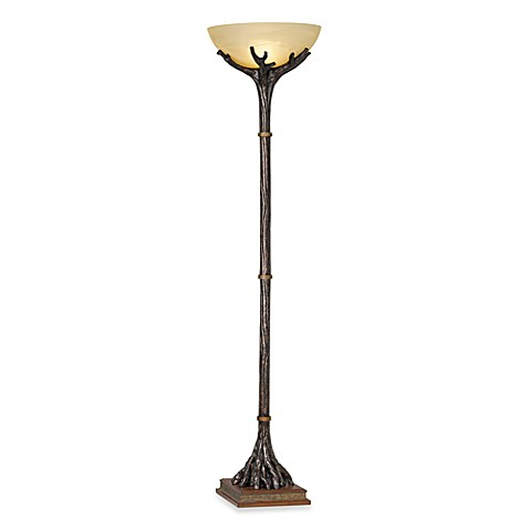 Pacific coast lightingr montana reflections torchiere for Pacific coast floor lamp georgetown torchiere