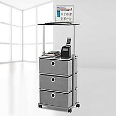 Item 4 Sterilite 3 Drawer Cart Black Case Of Two Storage Home Anization Clean