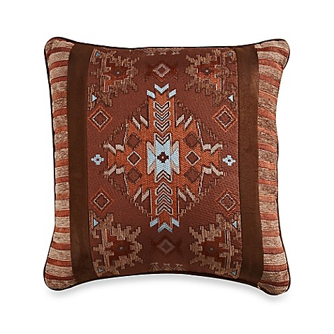 Bed Bath And Beyond Orange Throw Pillows : Buy Pueblo 18-Inch Square Throw Pillow from Bed Bath & Beyond