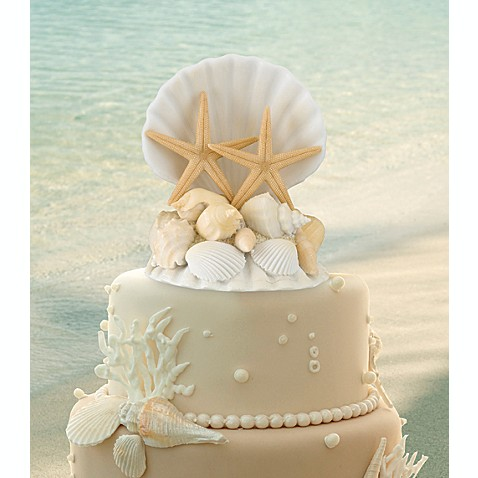 Lillian Rose™ Coastal Wedding Cake Topper