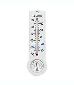 Termómetro e higrómetro de plástico La Crosse™ Celsius