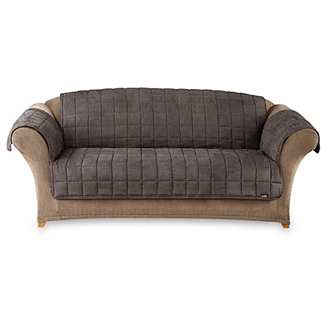 Sure Fit 174 Deluxe Pet Mini Checkered Furniture Sofa Throw
