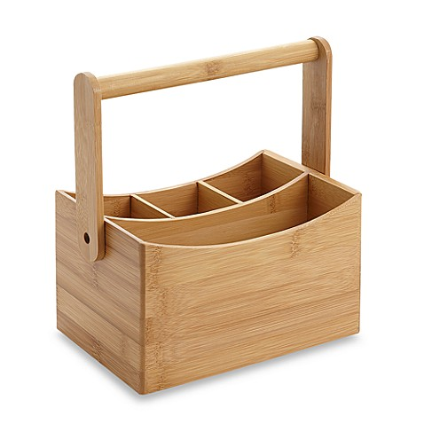 Bamboo Kitchen Sink Caddy