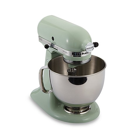 kitchenaid artisan 5 qt stand mixer in pistachio bed bath u0026 beyond - Artisan Kitchenaid Mixer