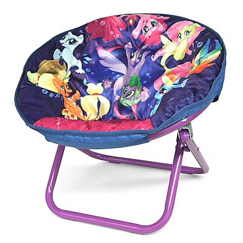 Hasbro 174 My Little Pony Upholstered Saucer Kids Chair
