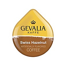 image of Gevalia 80-Count Swiss Hazelnut Coffee T DISCs for Tassimo™ Beverage System