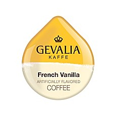 image of Gevalia 80-Count French Vanilla Coffee T DISCs for Tassimo™ Beverage System