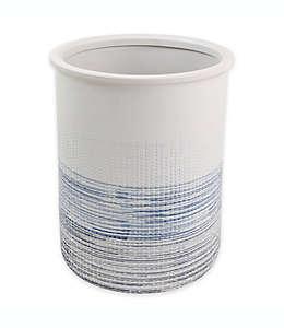 Bote de basura de cerámica Croscill® color azul