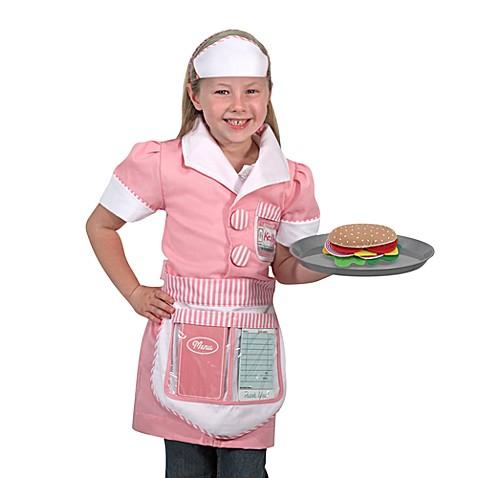 Melissa u0026 Dougu0026reg; Waitress Role Play Costume Set  sc 1 st  Bed Bath u0026 Beyond & Melissa u0026 Doug® Waitress Role Play Costume Set - Bed Bath u0026 Beyond