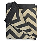 image of Ami McKay Fire Glow Zig Zag Throw Blanket