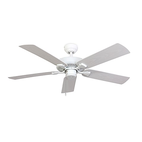 52-Inch Halifax White Outdoor Ceiling Fan