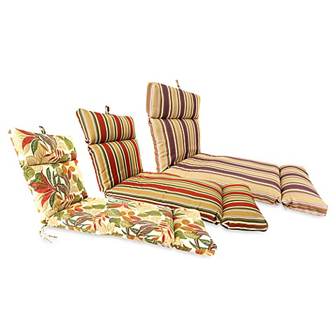 Outdoor Chaise Lounge Cushions Bed Bath Amp Beyond