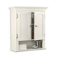 image of fairmont wall mounted cabinet in white