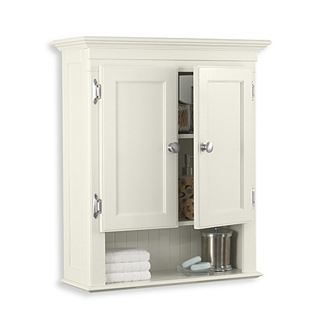 bathroom wall mount cabinet buy fairmont wall mounted cabinet in ivory from bed bath 11872