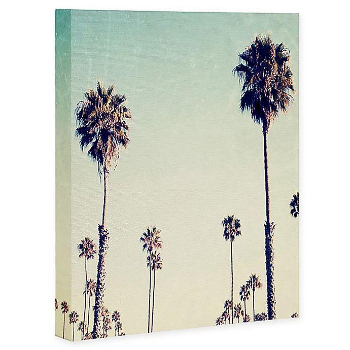 Deny Designs Bree Madden California Palm Trees Canvas Wall Art Bed Bath Beyond