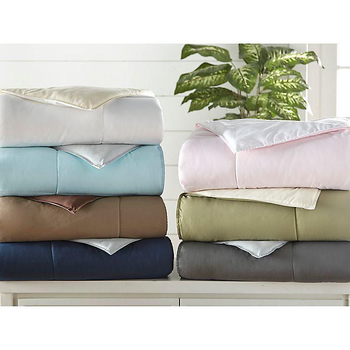 All Season Down Alternative 3 Piece Reversible Comforter Set Bed Bath Beyond