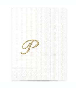 """Servilletas de papel con letra """"P"""""""
