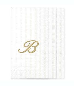"""Servilletas de papel con letra """"B"""""""