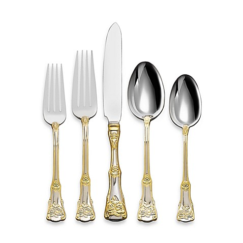 Bed Bath And Beyond Gold Flatware