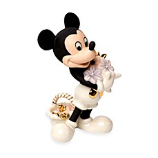 image of Lenox® Disney Mickey's Flowers For You Figurine