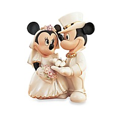 image of Lenox® Disney Minnie's Dream Wedding Figurine