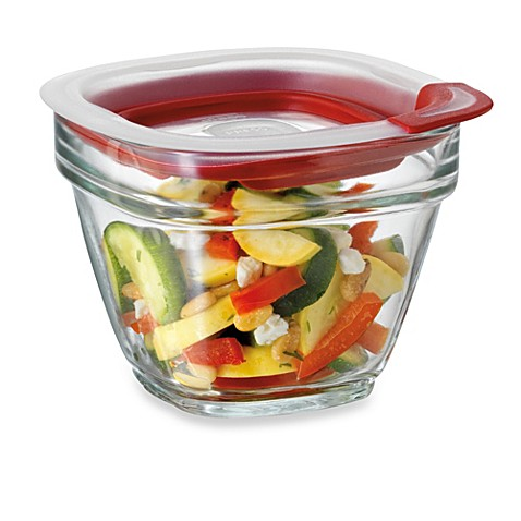Rubbermaid 174 Glass Food Storage Containers With Easy Find