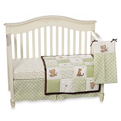 Disney 174 My Friend Pooh 4 Piece Crib Bedding Set Bed Bath