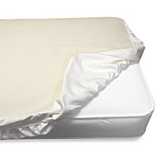 image of Naturepedic® Waterproof Fitted Crib Pad Cover