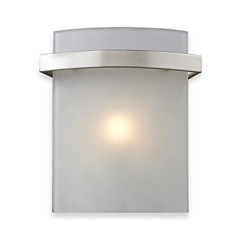 Buy elk lighting briston 1 light vanity from bed bath beyond for Elk bathroom lighting