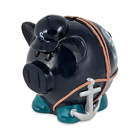 Seattle mariners resin piggy bank from mlb from buy buy baby - Resin piggy banks ...