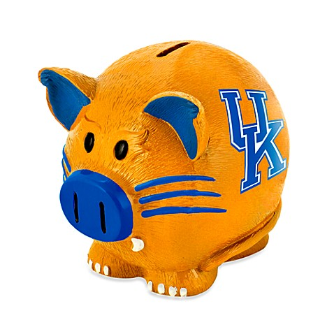 Buy University Of Kentucky Resin Piggy Bank From Bed Bath
