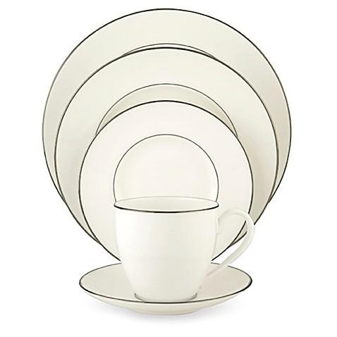 lenox continental dining platinum dinnerware collection bed bath u0026 beyond - Lenox Dinnerware