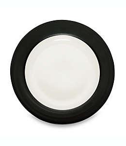 Plato para ensalada Noritake® Colorwave en negro