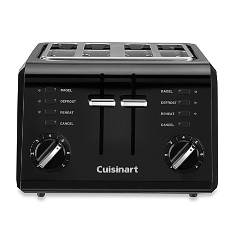 Cuisinart Black pact Cool Touch 4 Slice Toaster Bed Bath