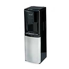 image of Primo Bottom Load Hot, Cool and Cold Water Dispenser in Black/Stainless Steel